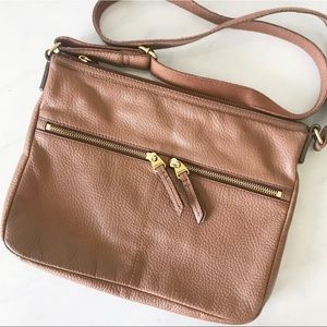 FOSSIL • leather cross body